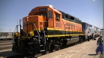 BNSF 3003 now on the point