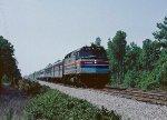 Amtrak #90 zipping north