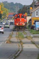 CN 4112 Running down the Burford