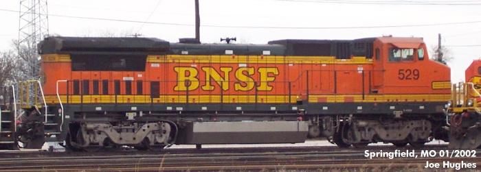 BNSF 0529