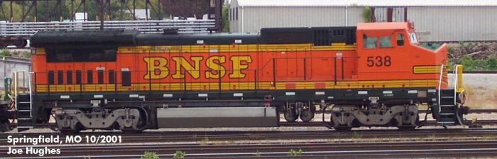 BNSF 0538