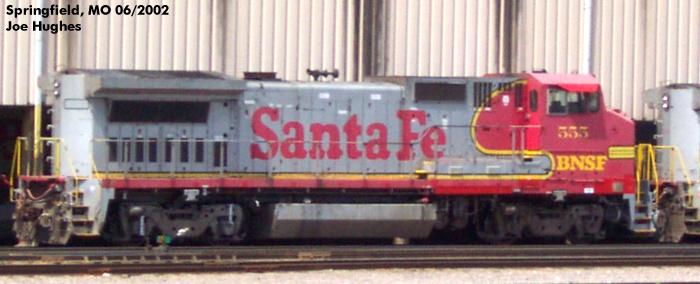 BNSF 0555