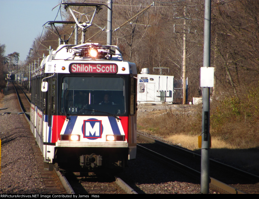 Car 3011 at Rock Road Station