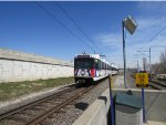 Its a sunny day for St. Louis MetroLink's Red Line