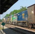 CSX uses rental power to assist