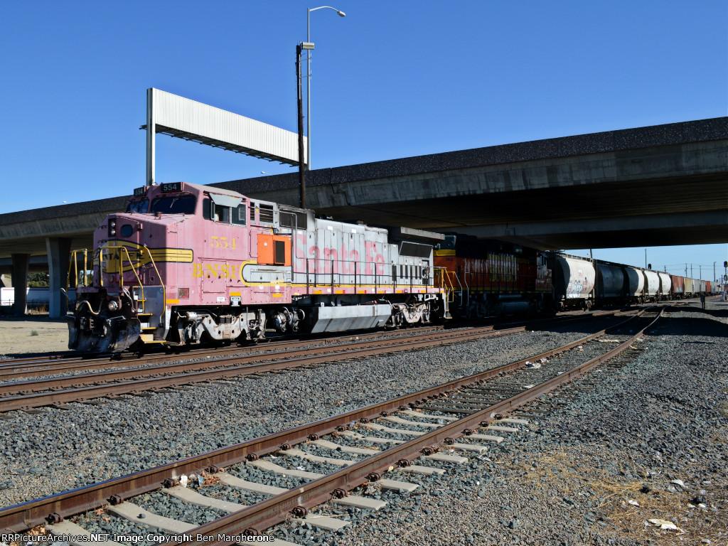 BNSF 554