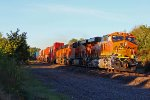 BNSF 7159 Shinning in the bright sun!