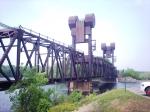 BNSF Liftbridge in Prescott, WI