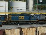 CSX 2434 (SD40-2)