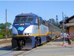 CDTX 2014 Amtrak California Capital Corridor Train #537