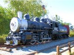 SP 1258 0-6-0 on Display at Waterfront Park
