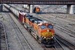 Eastbound unit crude loads