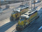 UP 3258 and UP 3360 - Cheyenne WY
