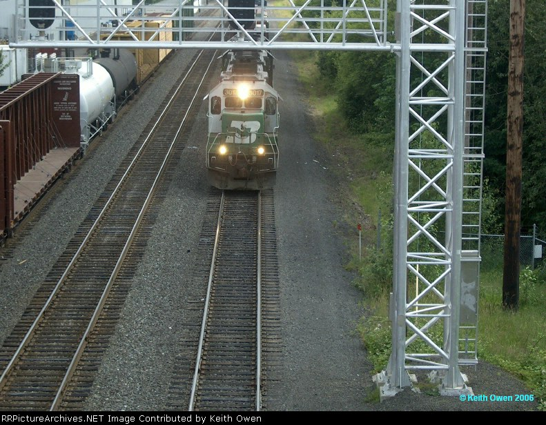 BNSF Albany Turn