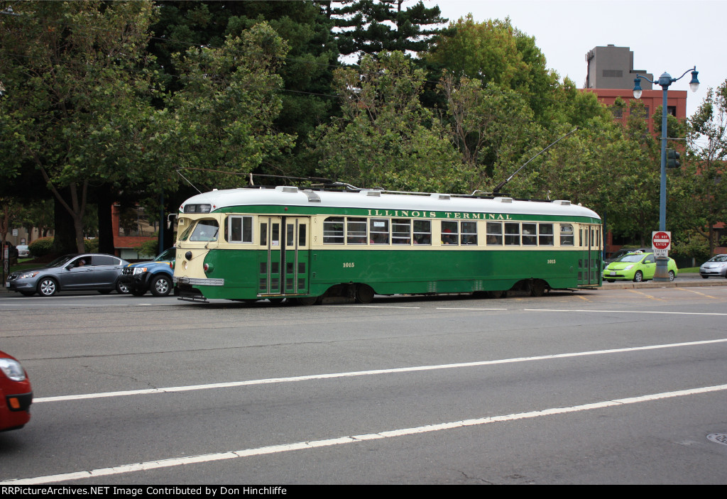 San Francisco Market Street Railway #1015