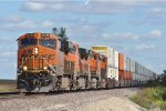 BNSF 6739 On A Westbound MP 82 At Ransom Ill