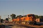 BNSF 6566 On A Eastbound