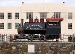 Alaska Railroad #1 on display