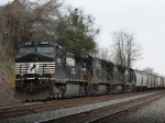 Mar 19, 2006 - NS 9076 leads unknown grain train