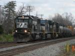 Mar 25, 2006 - NS 6624 leads train 153