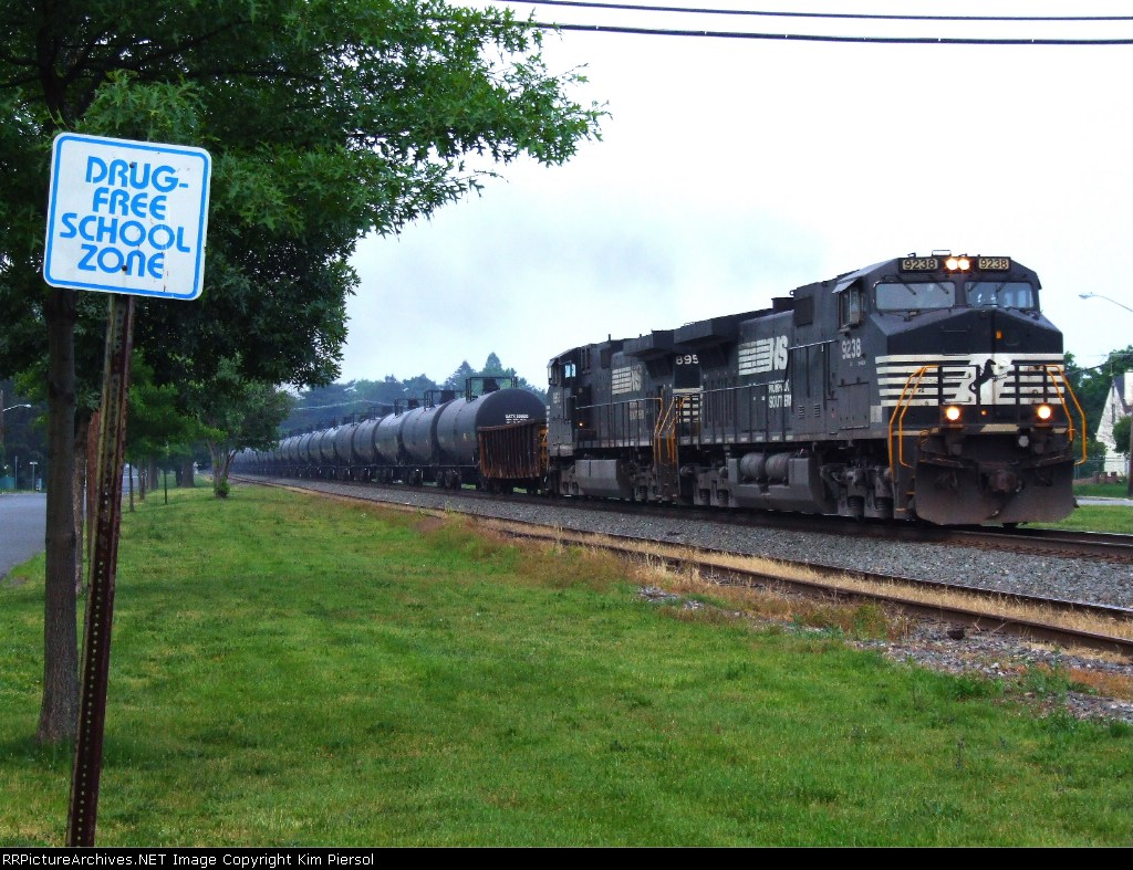 Ethanol Train in the Drug Free Zone