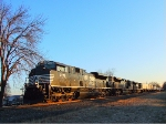 Trio of Norfolk Southern SD70s