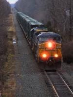 CSX Trash Train