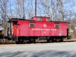 Morristown & Erie Caboose #4