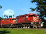Pair of Canadian Pacific SD40-2s