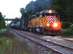 Pair of CEFX SD40-2s on CSX Trenton Line