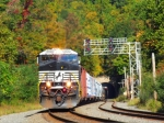 NS 9950 through Musconetcong Tunnel