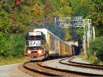 NS 6714 through Musconetcong Tunnel