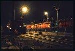 Locomotives at sleep