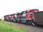 FXE SD70ACes 4085 & 4095 and FXE ES44ACs 4678 & 4680