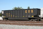 CSX Coal gondola on wrong coast