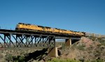 UP SD70M 4031 at Vail AZ on 10-6-13