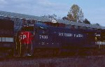 A visitor with NS train #155.