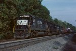 NS southbound leaving Toccoa
