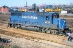B&M GP40-2 304