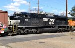 NS SD70ACe 1011 trails on 65W/FC81