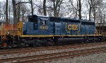 CSX SD40-3 4043 trails on K533-01