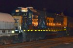 CSX SD50-2 8546 trails on Q409-26