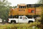 BNSF 4579 w/ GREX technical service