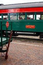 Green & Red Railway Logos