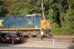 q 702 nb empty garbage train