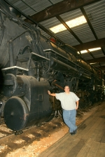 T&P #610 - Big engine! Non-articulated to boot.