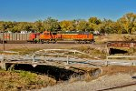 BNSF 9988 - Rear DPU on E-SAIBAM0-95