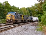 CSX 7877, 9000, and 2736