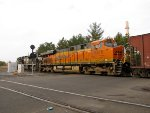 BNSF 6276 and NS 1017