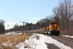 BNSF 8858 Leads Z145 15 North at Riverview Road